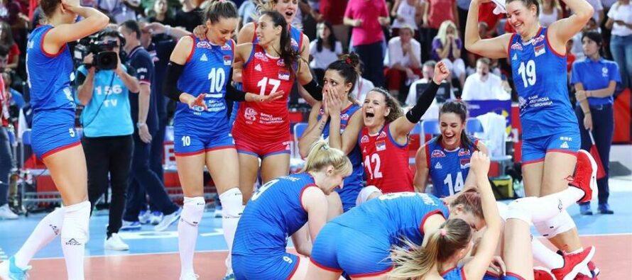 Srbsko je staronovým šampiónom Európy!