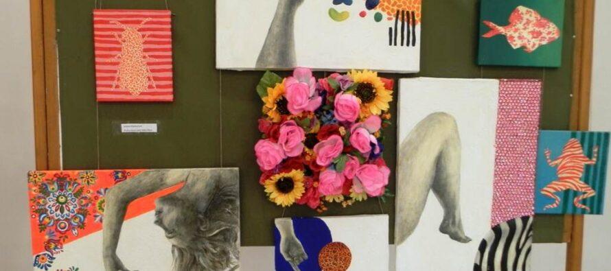 Výstava mladých výtvarníkov v Hložanoch