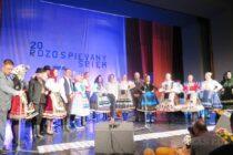 Odznel  jubilený 20. festival Rozospievaný Sriem