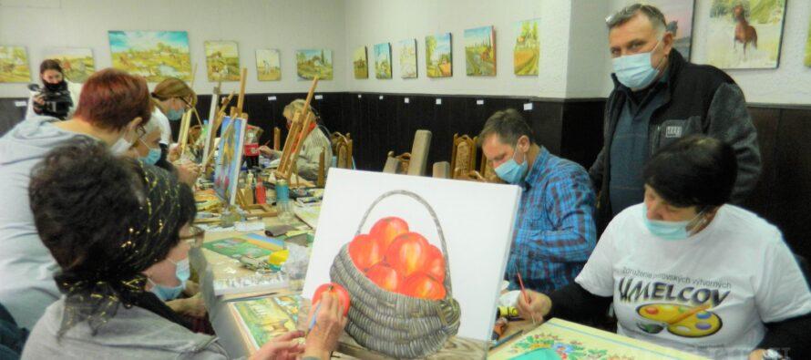 Výtvarný tábor v Kysáči