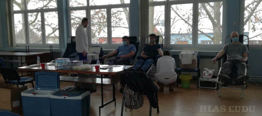 Prekvapivo veľký záujem o dobrovoľné darcovstvo krvi