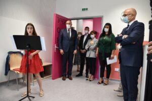 Primátor Mesta Nový Sad navštívil novovystavanú Hudobno-baletnú školu v Novom Sade