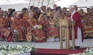 Homília svätého otca v Prešove (Foto: markiza.sk)