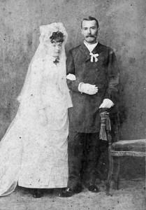 Konštantín Hurban s manželkou Ruženou