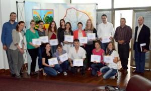 Frekventanti trojdňového seminára v Petrovci s certifikátmi
