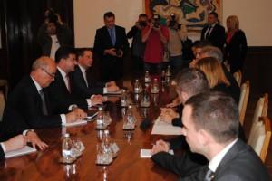 Stretnutie Nikolić – Lajčák sa konalo v Prezidentskom paláci na Andrićevom venci
