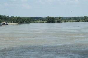 Pohľad na Dunaj pri Novom Sade