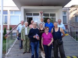 Matičiari z Vojvodiny v spoločnosti riaditeľa Krajanského múzea Mgr. Daniela Zemančíka (tretí sprava)