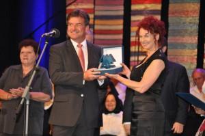 Zaslúžená Cena NRSNM Miroslavovi Lajčákovi