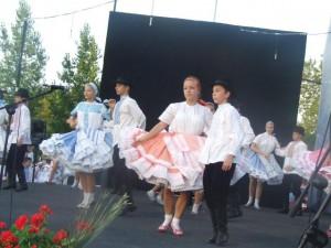 Vienok z Kysáča zapôsobil ako vždy: tancom a krojom
