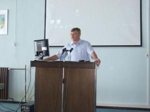 Dr. Ján Rybovič, riaditeľ Domu zdravia v Petrovci
