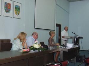 Počas príhovoru Jána Varša, veľvyslanca SR v Belehrade