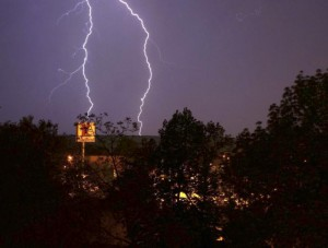 Búrka pri Trebišove