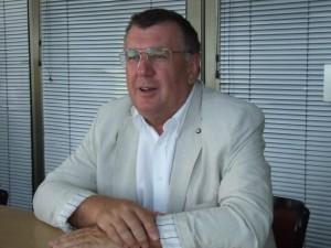 Prof. MUDr. Martin Rusnák, CSc., pri našom rozhovore počas SNS 2013 v Petrovci
