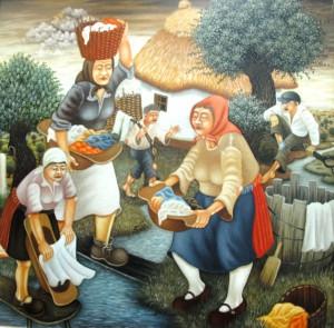 Maľba Peru Toplaka Práčky