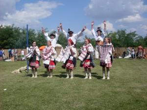 Hostia zo Slovenska zatancovali a zaspievali aj účastníkom podujatia Ovčiarsky deň...