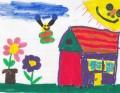 Lana Fehérová: A nech je všetko veselé: slnko, kvietky, motýliky.