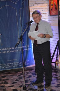 Po prvýkrát v Novom Sade – spisovateľ Jaroslav Rezník