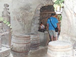"""""""Predná"""" časť kamennej pivnice u Hajdúchovcov"""