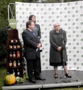 Hostí privítali Jozef Gašparovský a prof. Dr. Branka Lazićová