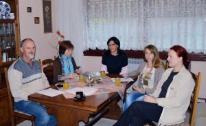 Dohovor budúcich trénerov s koordinátorkou projektu Annou Valentovou (prvá sprava)