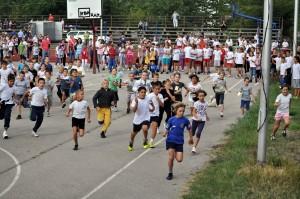 Štart Petrovského maratónu na Námestí slobody roku 2008