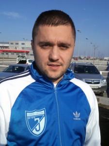Favorita na lopatky: Aleksandar Erceg (Jednota)