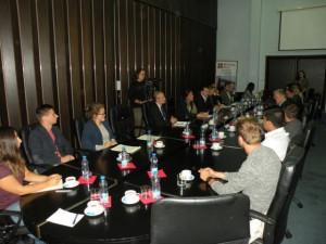 Zo stretnutia predstaviteľov lokálnej a pokrajinskej samosprávy s hosťami z Holandska