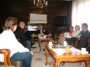 Zo stretnutia pokrajinskej tajomníčky Pavićevićovej Bajićovej s riaditeľmi fabrík