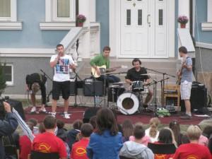 Koncert slovenskej kresťanskej rapcore kapely Ignore z Púchova