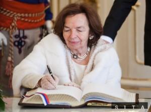 Bývalá česká prvá dáma Livia Klausová sa narodila v Bratislave. Vráti sa na Slovensko v úlohe veľvyslankyne? Autor: SITA, Jozef Jakubčo