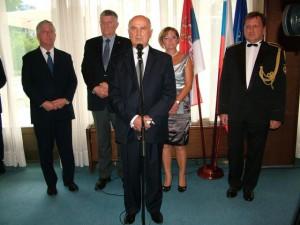 Z recepcie v ambasáde Slovenskej republiky v Belehrade