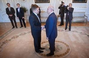 Ak by sa premiér Fico stal prezidentom, vláda by padla. Ivan Gašparovič by si ešte zaúradoval. Foto: SME - Tomáš  Benedikovič